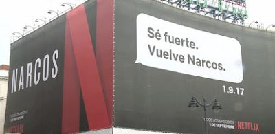 valla promocion temporada 3 narcos