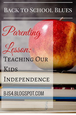 Teaching Kids Independence