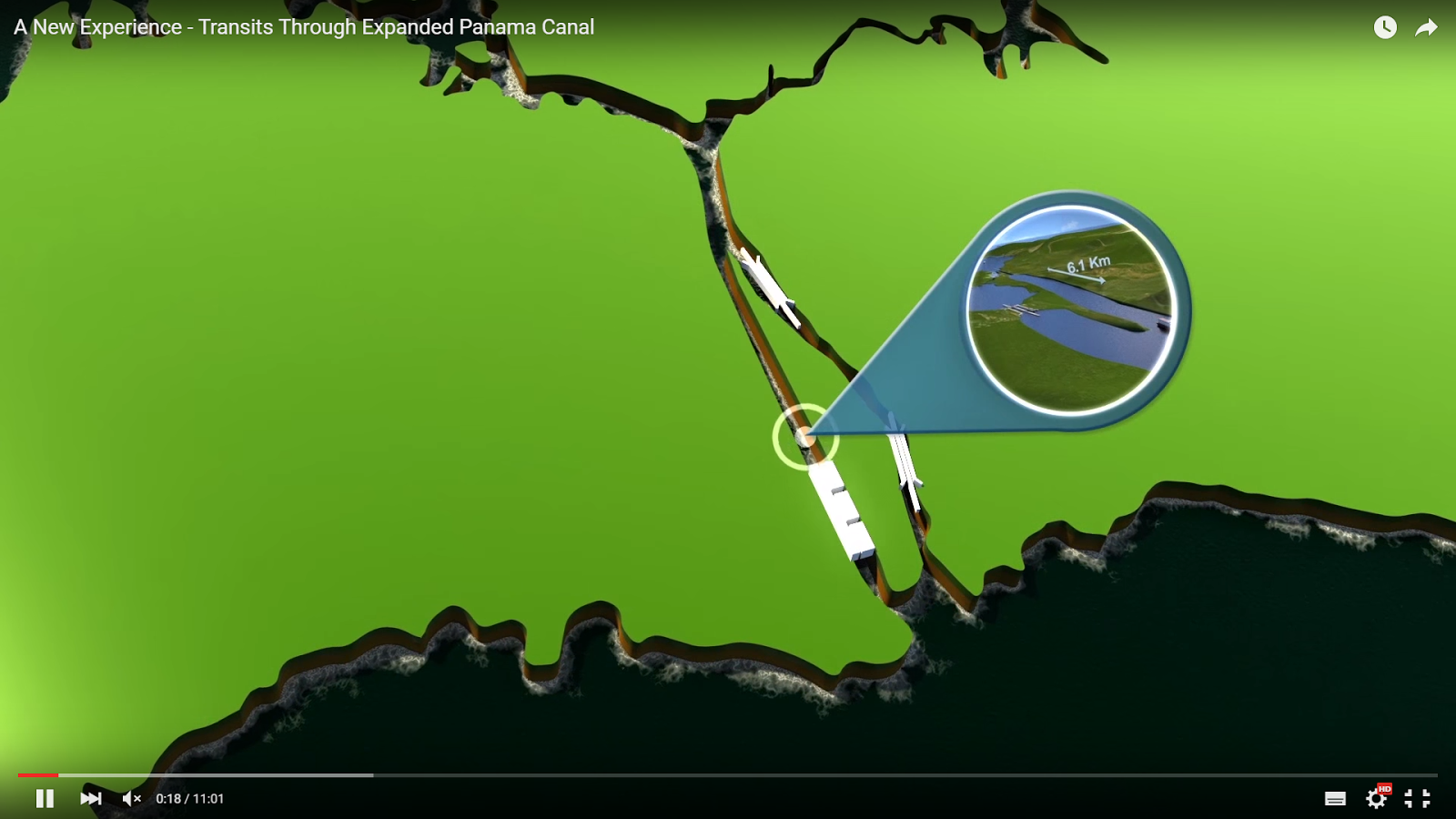 WATCH: Here's How the Expanded Panama Canal Will Work