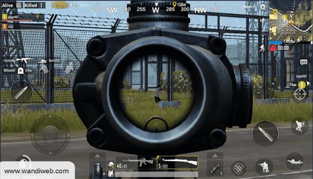 Tips Meningkatkan Akurasi Tembakan (AIM) di PUBG Mobile - WandiWeb