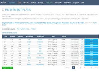 شرح طريقة الاستثمار مع منصة يوبيت Yobit  investbox