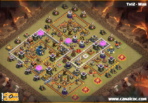 Th12 War Base 2 - Year of Clean Water