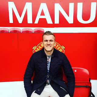 Lee at Old Trafford