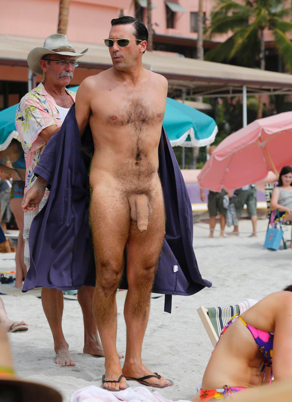 Naked well hung men
