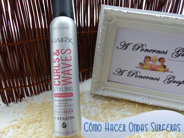 HairX Curls & Waves Ondas surferas Oriflame