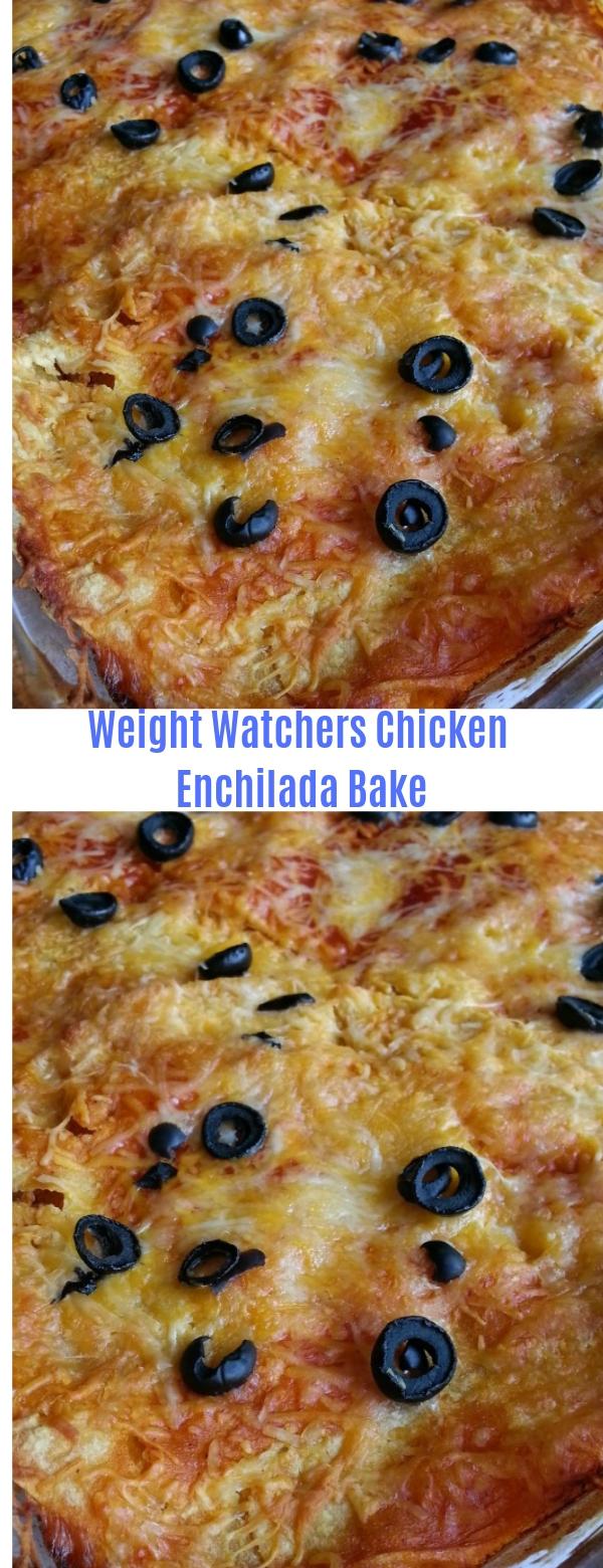 Weight Watchers Chicken Enchilada Bake