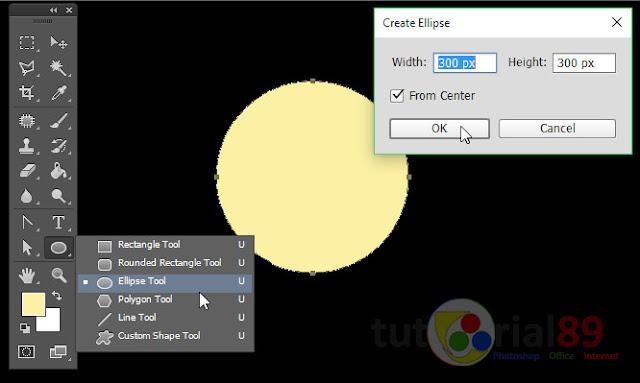 Cara mudah membuat gerhana matahari total dengan photoshop