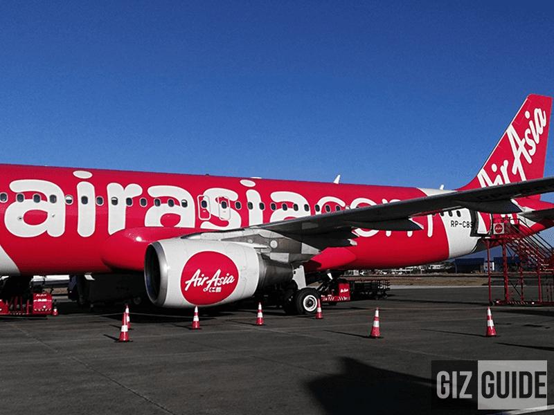 We just landed!