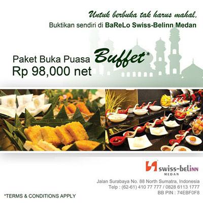 Paket Buka Puasa Buffet - Swiss Belinn Medan