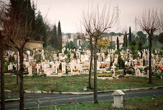 The Cimitero Flaminio in Rome, where Carosone was buried, is the largest cemetery in the city