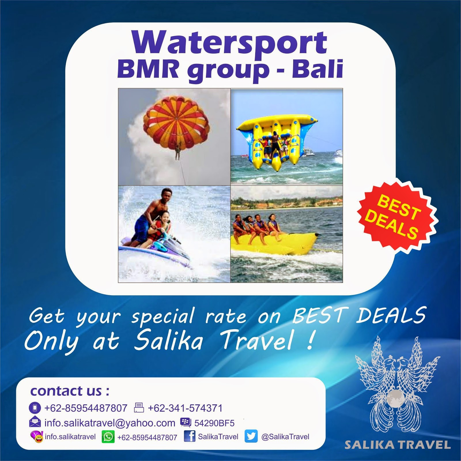 Bali Watersport - Salika Travel