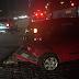 Acidente entre três carros na Roberto Freire, sentido BR-101