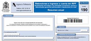 Modelo 190: Declaraciones informativas 2018- software fiscal CAIFIS