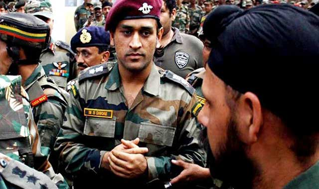 Insult to MS Dhoni in Kashmir