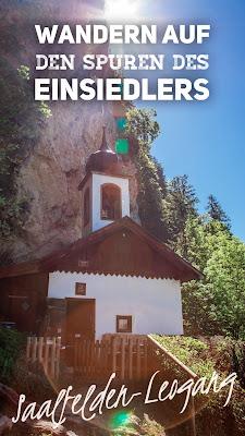 Wanderung zur Einsiedelei St. Georg bei Saalfelden | SalzburgerLand
