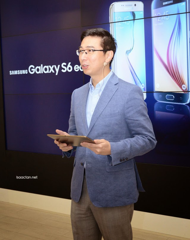 Lee Jui Siang, Vice President, Mobile, IT and Digital Imaging, Samsung Malaysia Electronics.
