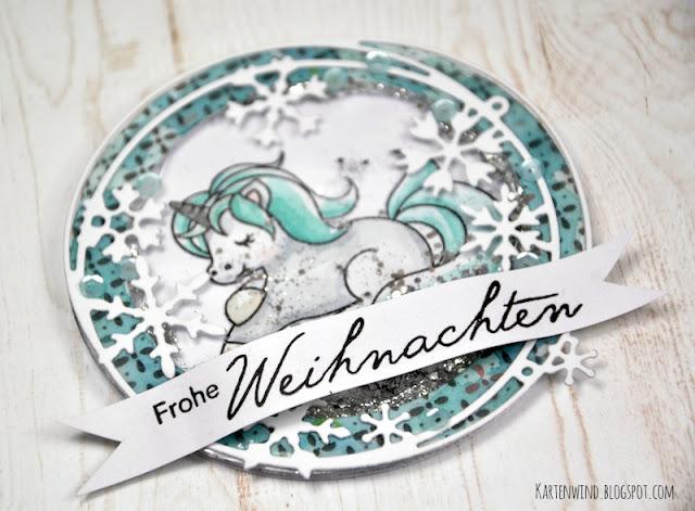 http://kartenwind.blogspot.com/2016/09/weihnachtliche-schuttelkarte-mit-einhorn.html