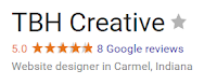TBH Creative Google+ 5 Star Rating