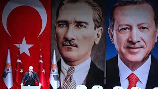 اردوغان : امكانية توسيع العمليات التركية فى سوريا الى الحدود العراقية