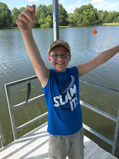 Small Bluegill, Lake Fishing, Perch