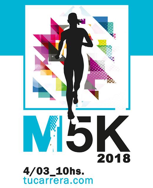 M5k en Prado de Montevideo (2a.fecha CAU Mujeres, 04/mar/2018)