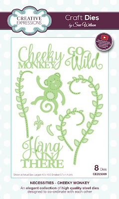 Creative Expressions Necessities Collection Cheeky Monkey Dies CED23009