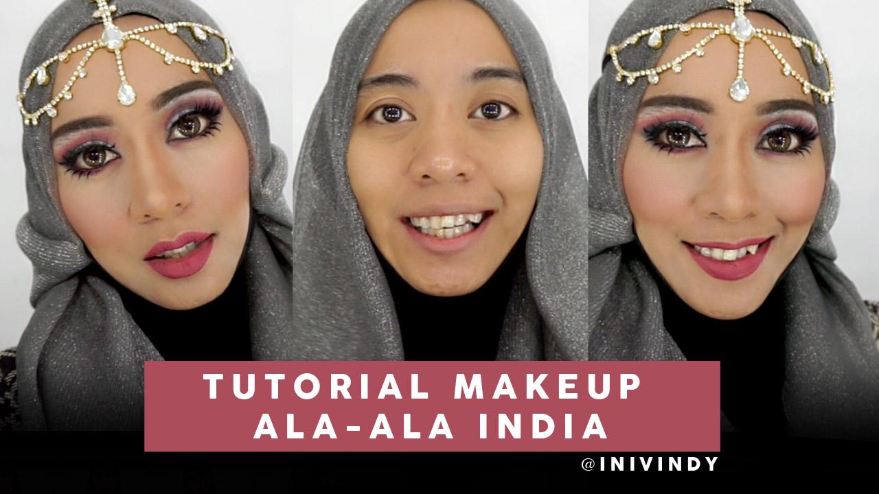 Tutorial Hijab Pesta India Fasahijab