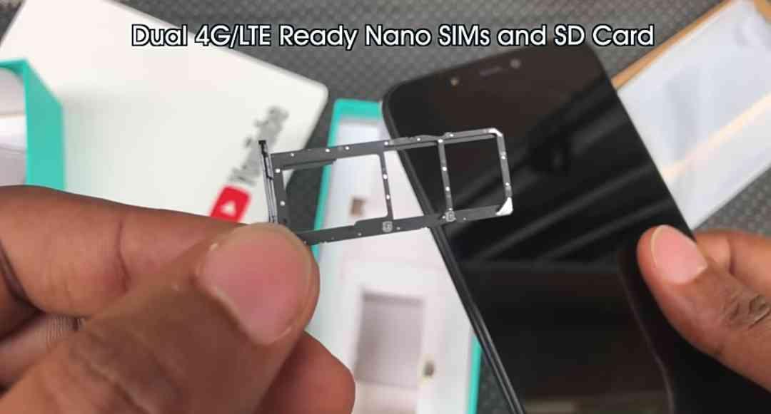 Dual Sim Cards + Micro-SD Card Slot On The Infinix Hot S3X