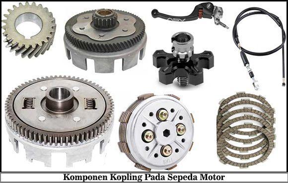 12 Komponen Kopling Motor, Fungsi dan Gambarnya