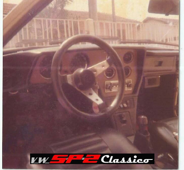 Foto de Época - Volkswagen SP2 - Interior