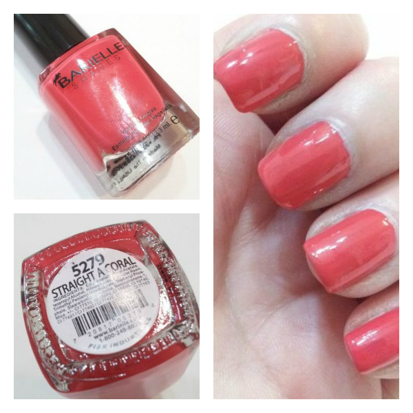 Barielle Straight A Coral Swatch
