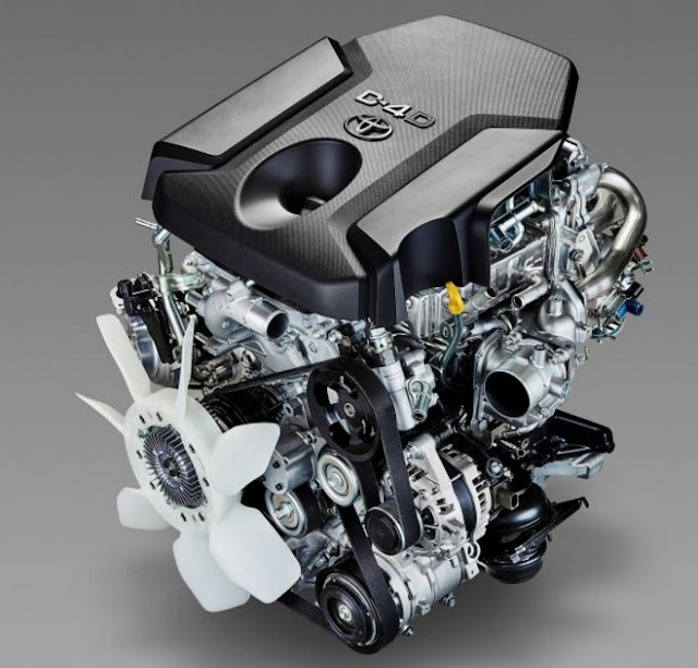 2018 Toyota Tacoma Diesel Engine Powertrains
