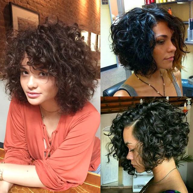 corte curto para cabelo cacheado