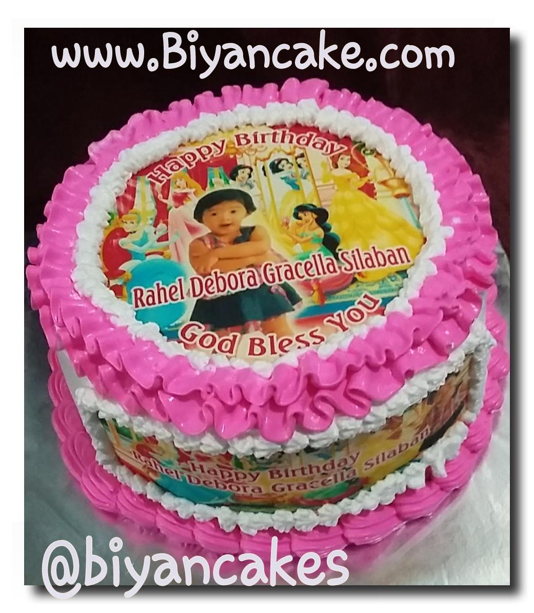 Kue Ulang Tahun Princess Biyan Cake