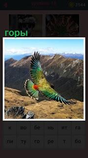 651 слов панорама гор с птичьего полета 15 уровень