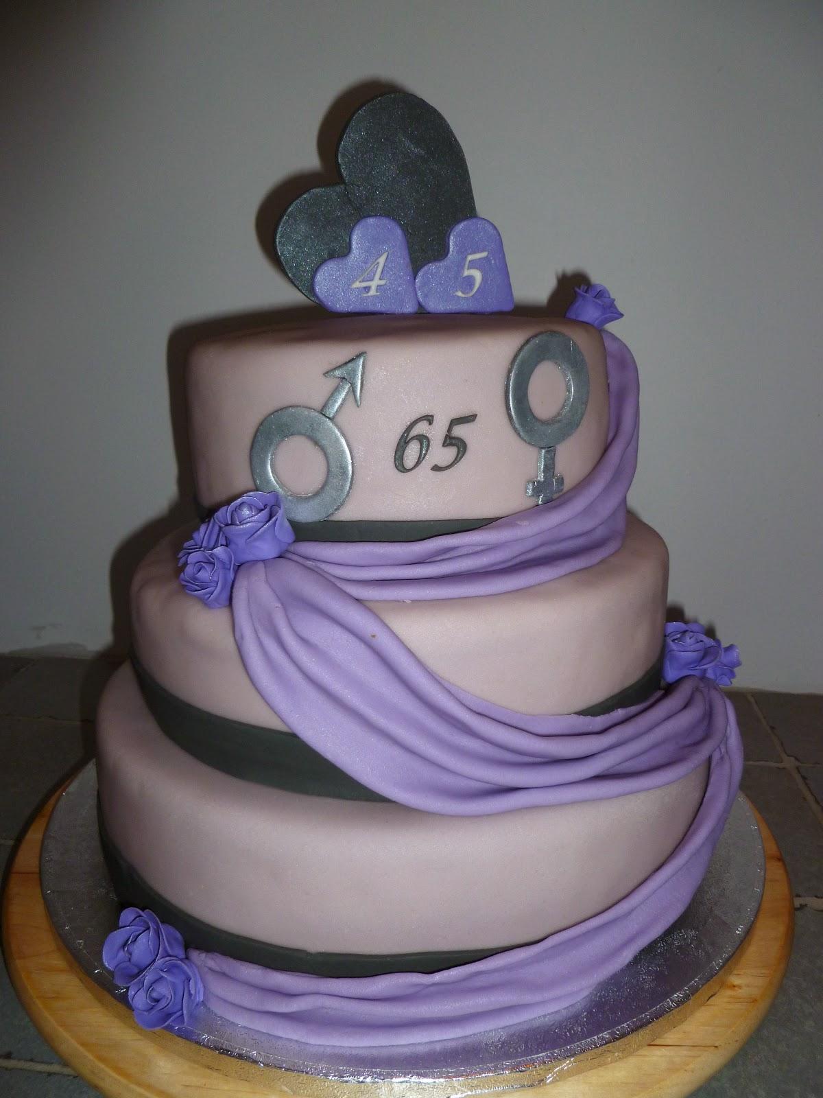 45 jaar getrouwd taart Mooietaarten: 45 jaar huwelijk 45 jaar getrouwd taart