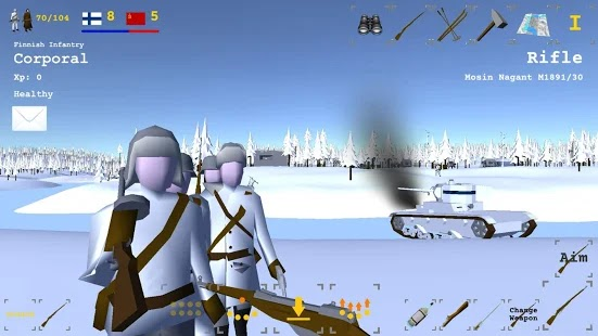 Winter war Apk+Data Free on Android Game Download