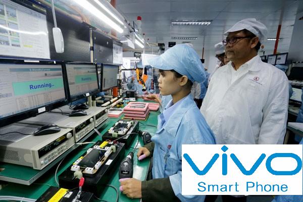 Lowongan Kerja PT. Vivo Mobile Indonesia, Jobs: Quality Control, Receptionist, Function Reapir, Etc.