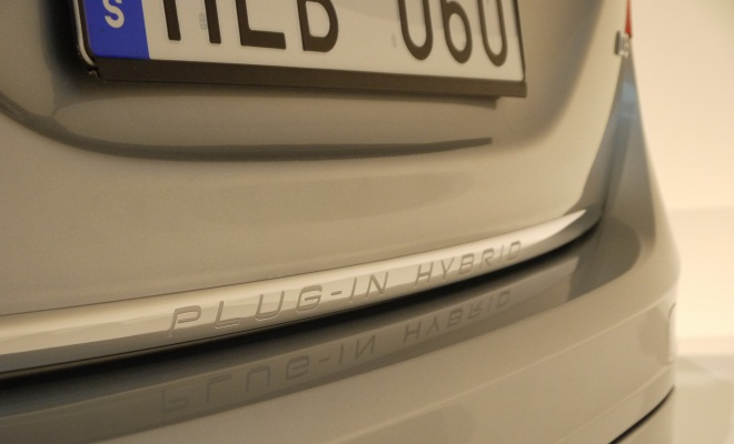 Plug-in hybrid boot badge