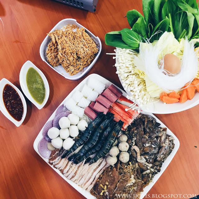 chokchai mookata singapore set meat seafood