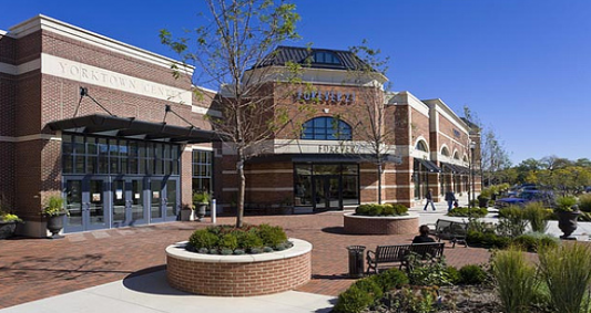 """Fountain Square Dr, Lombard, IL miles from Yorktown Center """" Even though the Yorktown Center Mall is very close by, it's not really walkable due to a ."""