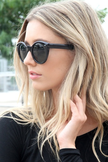 Pretty Blonde Teen Girl Stock Image Image Of Outside: The Bast Hair: Blonde Highlights