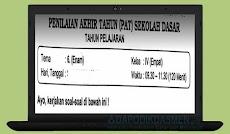 Soal UKK / UAS / PAT SD Kelas 4 Semester 2 Kurikulum 2013