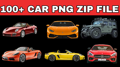 100+ CAR PNG ZIP FILE