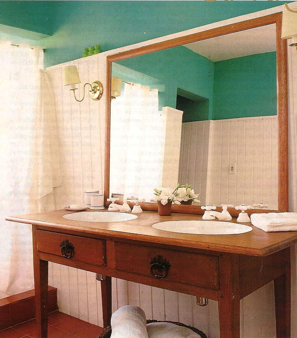 Babuchy Decor: Ainda Sobre Banheiros  #A1642A 1038x1181 Banheiro Antigo Decoração