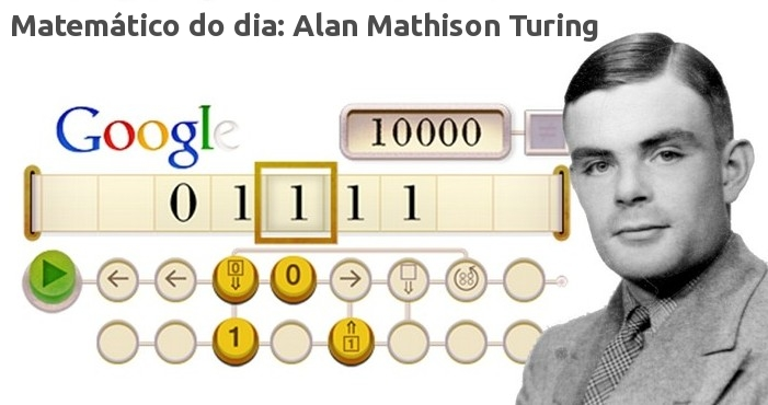 Matemático do dia: Alan Mathison Turing