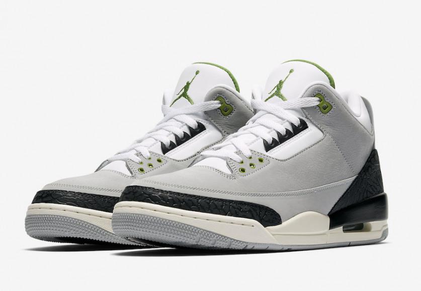Swag Craze  First Look  Nike Air Jordan 3 Retro Chlorophyll Tinker 58b934938