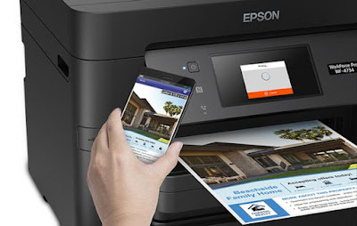 Driver Both Works The Epson Workforce WF Free Downloads Epson WF- 4734 Driver Printer For Windows in addition to Mac Os