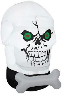 Airblown Gothem Skull for Halloween