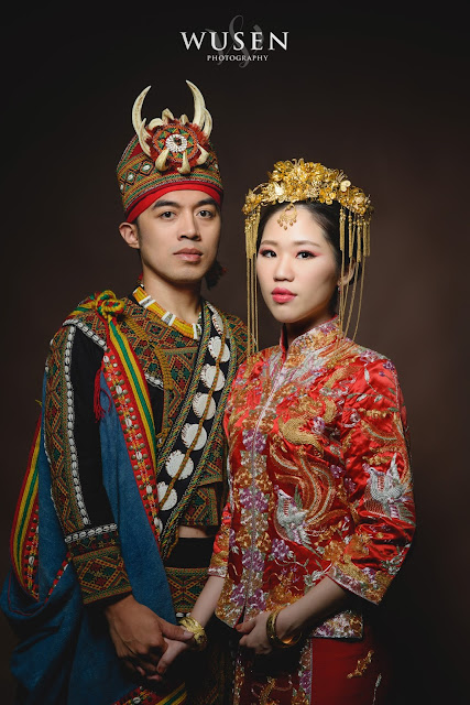 魯凱族婚紗龍鳳褂